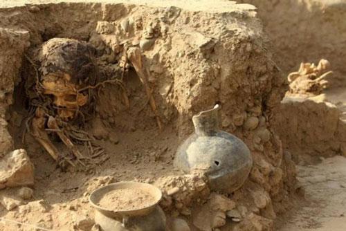 Xác ướp được phát hiện là phụ nữ. (Nguồn: vanguardia.com)