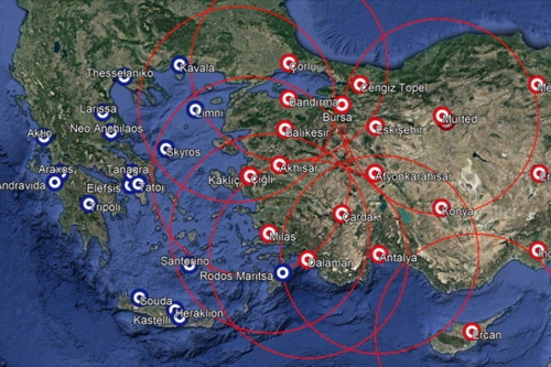 Thổ Nhĩ Kỳ đã đưa hệ thống phòng không S-400 tới những căn cứ quân sự trọng yếu. Ảnh: Avia-pro.