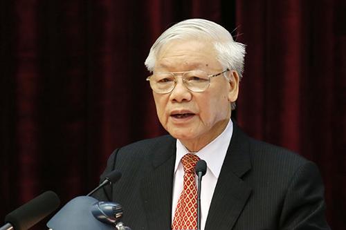Tổng Bí thư, Chủ tịch nước Nguyễn Phú Trọng. Ảnh: Vietnamnet.