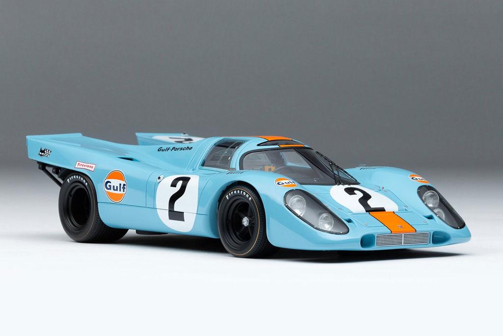 2. Porsche 917 (thời gian tăng tốc từ 0-100 km/h: 2,3 giây).