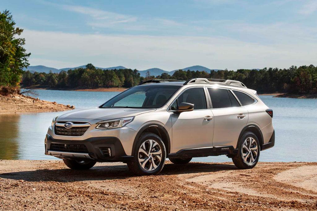 5. Subaru Outback (doanh số: 14.856 chiếc).