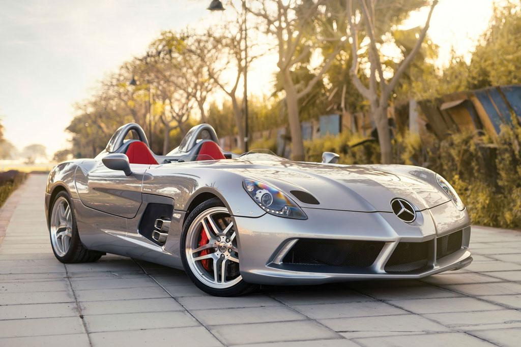 7. Mercedes-Benz SLR McLaren Stirling Moss (thời gian tăng tốc từ 0-100 km/h: 3 giây).