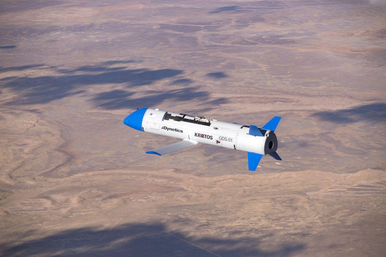 Máy bay không người lái X-61A Gremlins của Dynetics. Ảnh: Janes Defense.