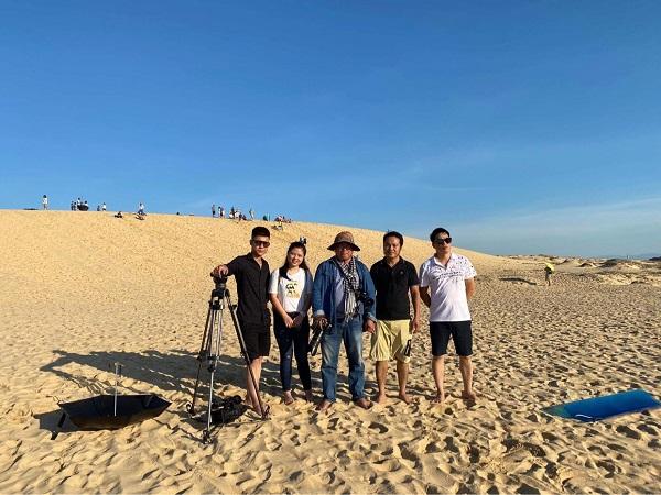 Làng cát Nhân Trạch Quảng Bình trở thành điểm du lịch hấp dẫn.