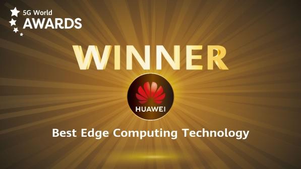 Giải thưởng 'Best Edge Computing Technology' năm 2020 tại Hội nghị 5G Thế giới 2020.