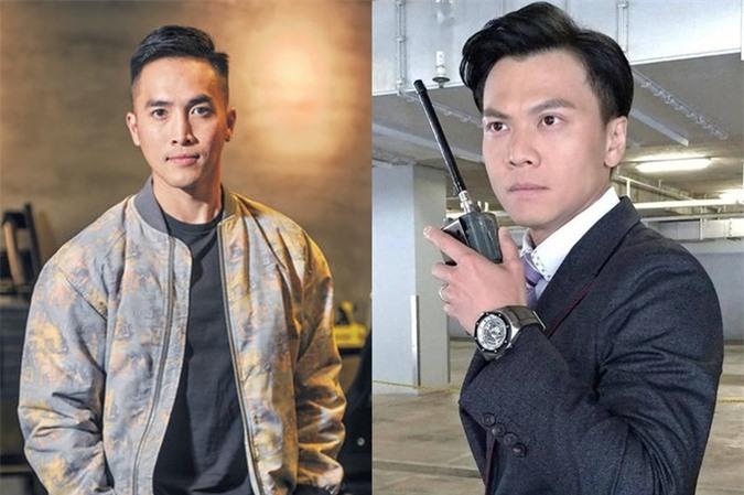 Trần Quốc Phong (trái) và Mạc Gia Kiềm. Ảnh: TVB.