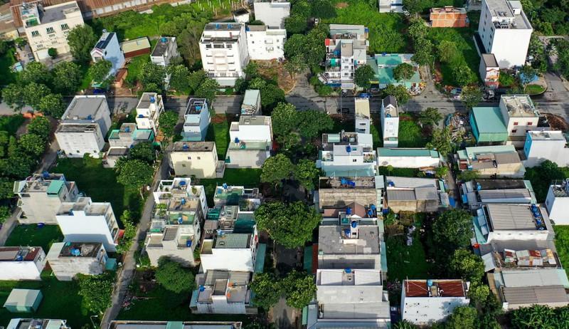 """Dự án Khu dân cư Trung tâm thương mại Amazing City (tên thương mại là Amazing City) là một trong những công trình sai phạm """"khung"""" ở tại huyện Bình Chánh"""