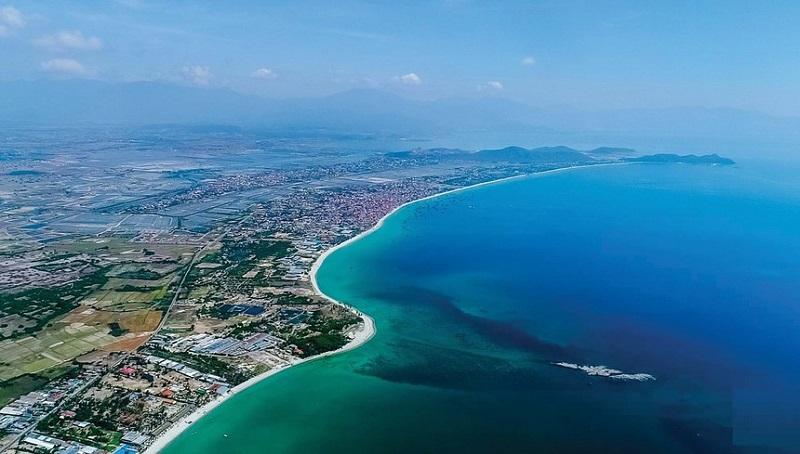 Khu kinh tế Vân Phong, tỉnh Khánh Hoà, nơi Công ty Cổ phần Thương mại Đầu tư dầu khí Nam Sông Hậu muốn đầu tư dự án (Ảnh: Internet).