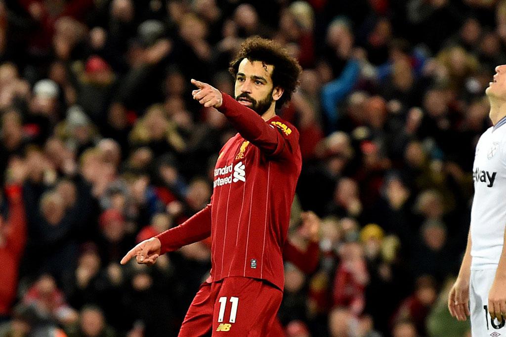 1. Mohamed Salah (Liverpool).