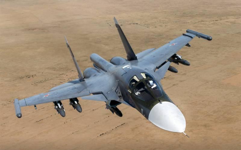 Máy bay ném bom tiền tuyến Su-34 của Không quân Nga. Ảnh: Topwar.