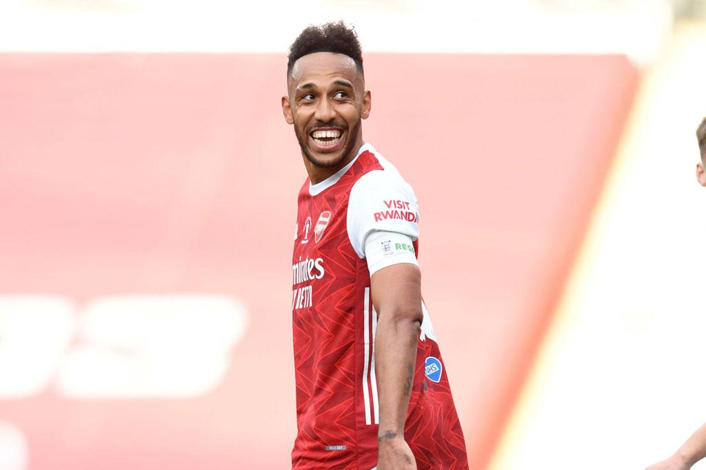 3. Pierre-Emerick Aubameyang (Arsenal).