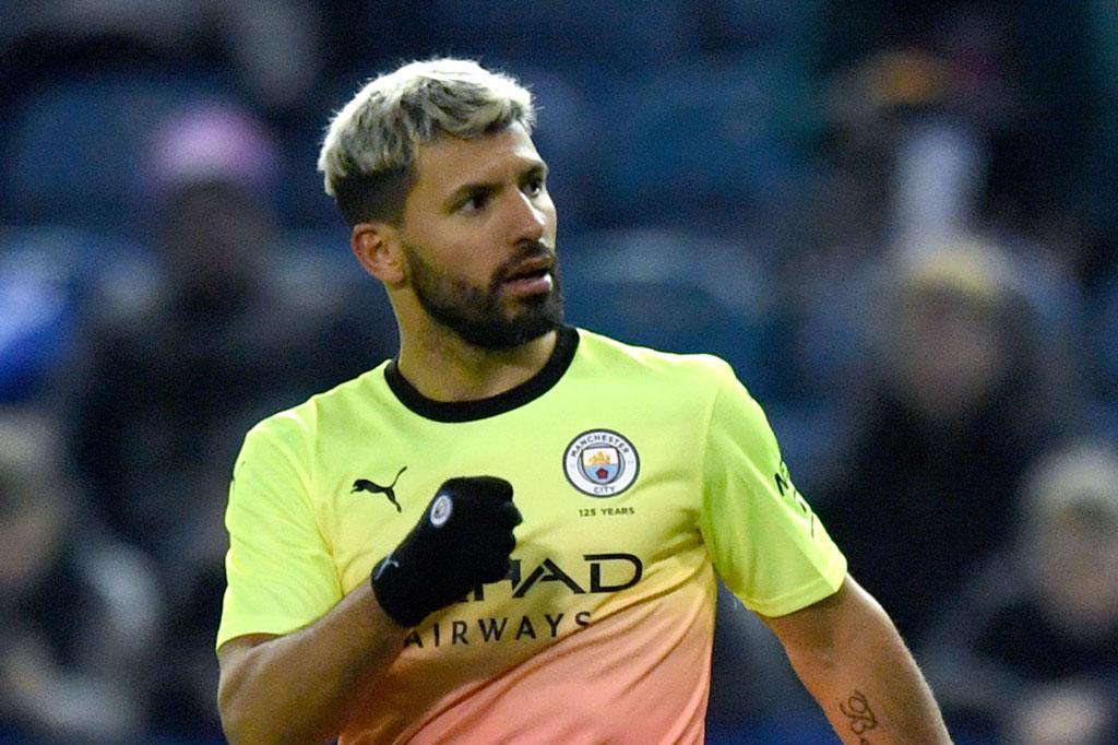 4. Sergio Aguero (Man City).