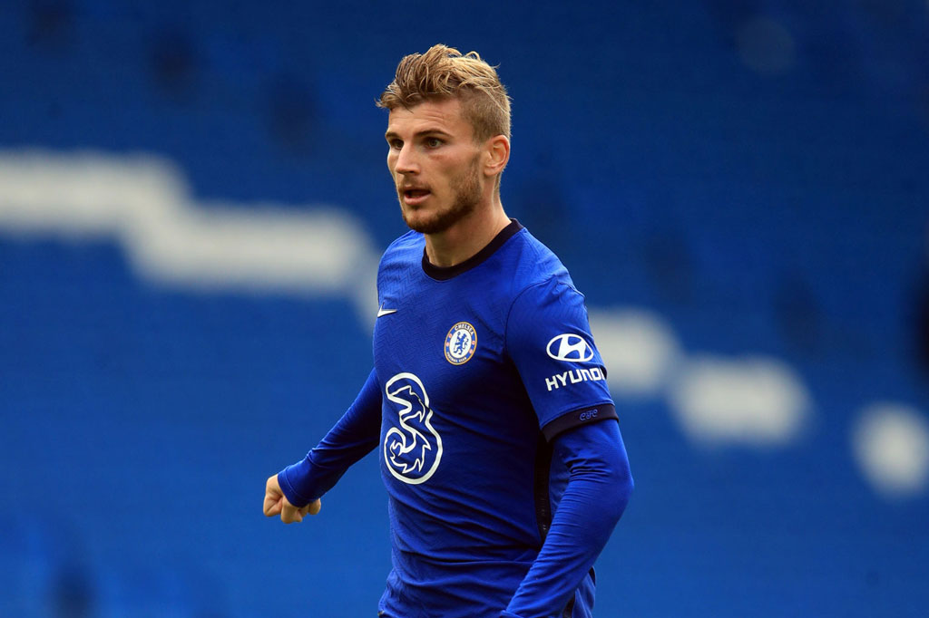 5. Timo Werner (Chelsea).