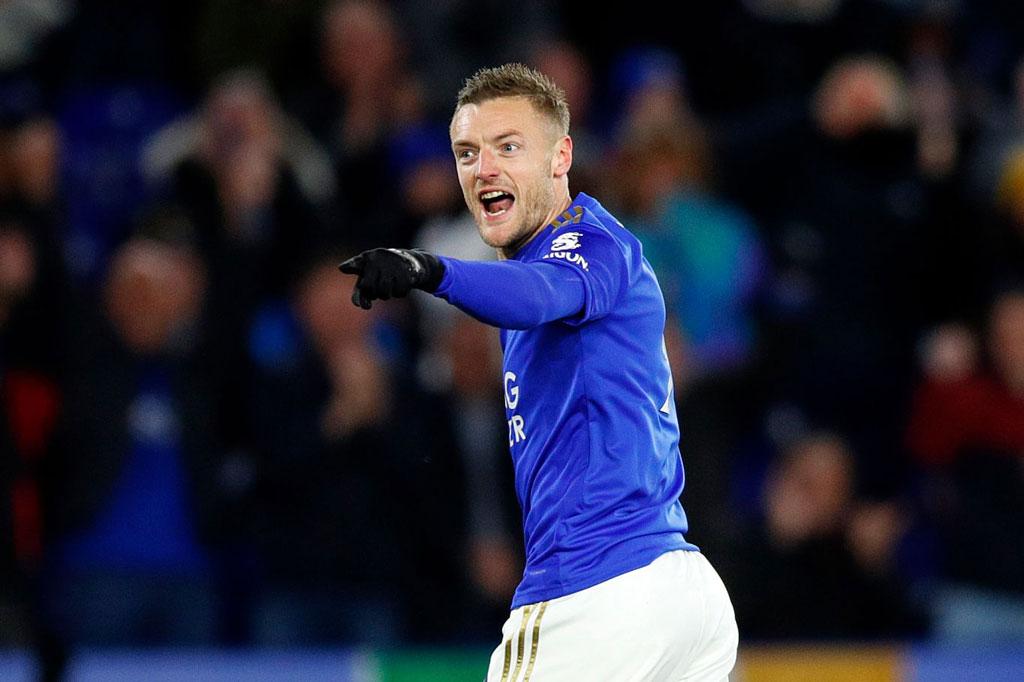 7. Jamie Vardy (Leicester City).