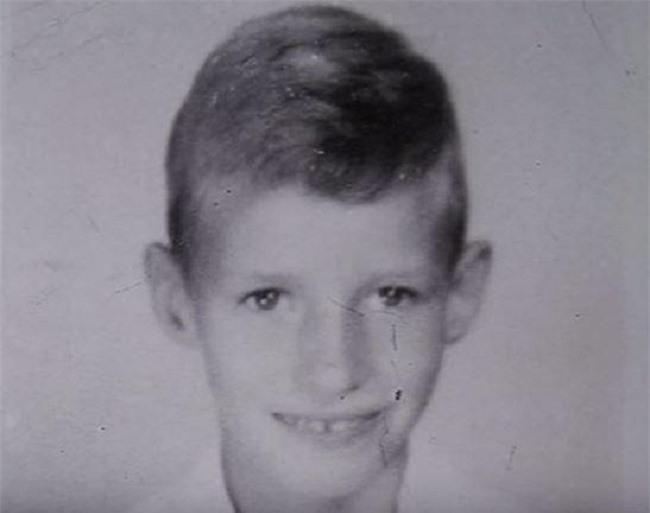 Chân dung ông David năm 8 tuổi.