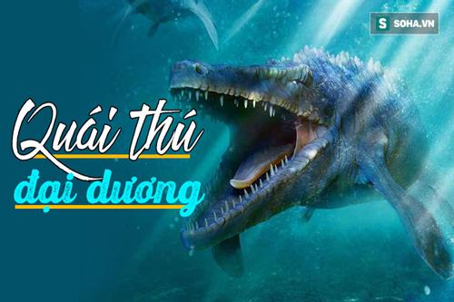 Thằn lằn biển lớn Thương long từng bá chủ đại dương suốt 20 triệu năm. Ảnh: Internet