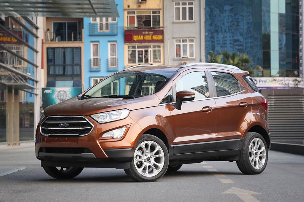 Ford EcoSport giảm giá 80 triệu tại Việt Nam, 'đe nẹt' Hyundai Kona, Kia Seltos