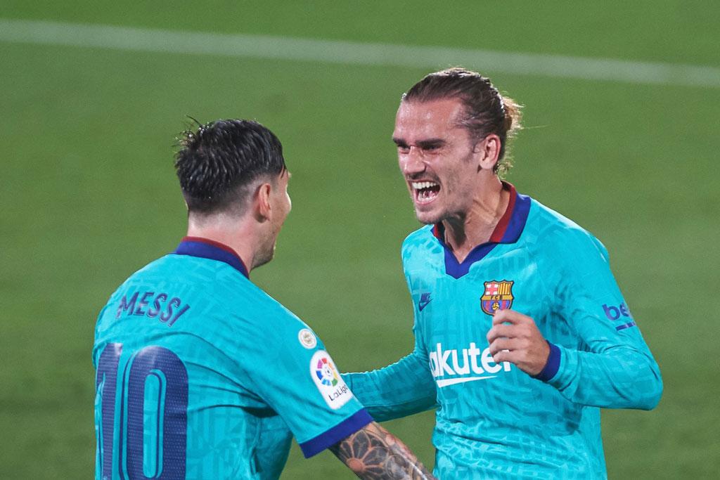 Messi và Griezmann.