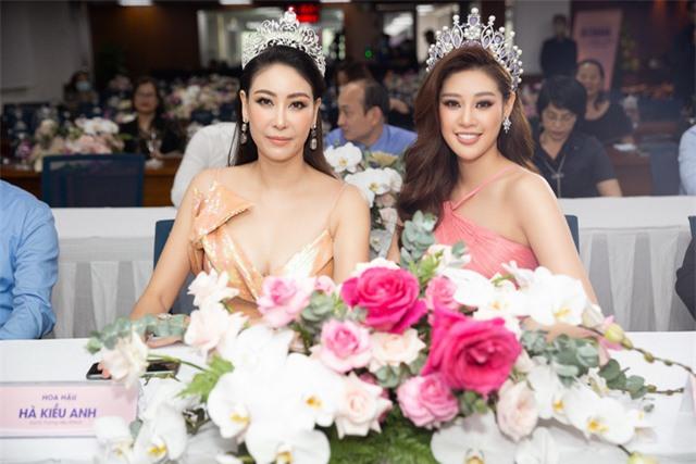 """Hoa hậu Khánh Vân xuất hiện rạng rỡ với vương miện """"trái tim dũng cảm"""" - Ảnh 6."""