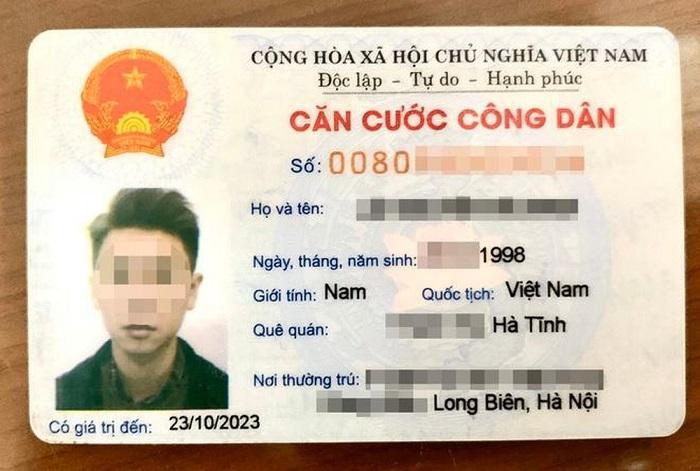 Thẻ CCCD mã vạch đang được sử dụng. (Ảnh internet)