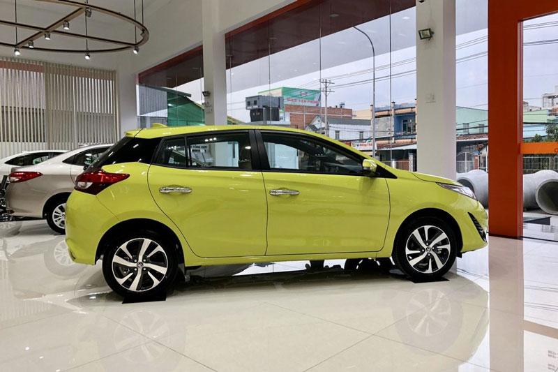10. Toyota Yaris (doanh số: 31 chiếc).