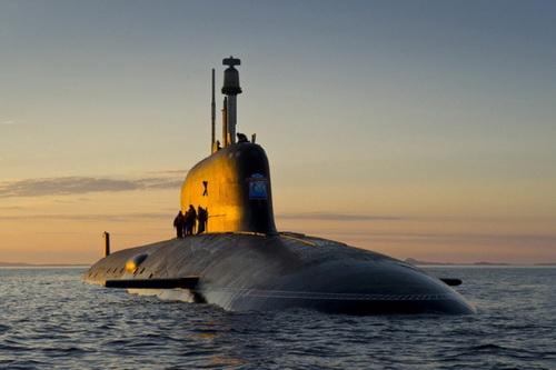 Tàu ngầm hạt nhân Nga không phải