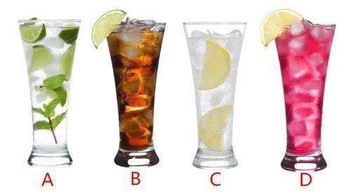 Bạn chọn ly nước nào?