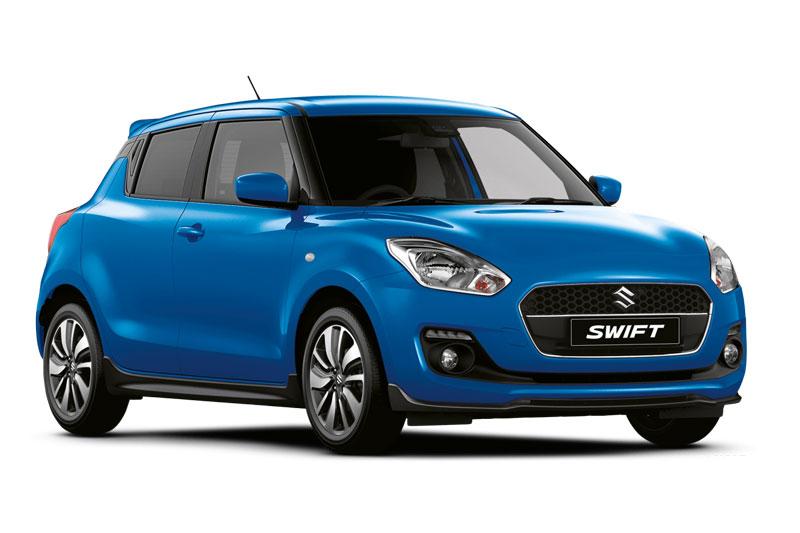 5. Suzuki Swift (doanh số: 21 chiếc).