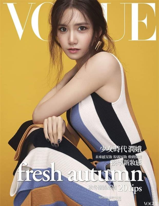 Nữ thần Yoona lồng lộn lên 7 bìa tạp chí, nhưng fan la ó vì đôi mắt 'trừng trừng' đánh bay vẻ đẹp nữ thần 4