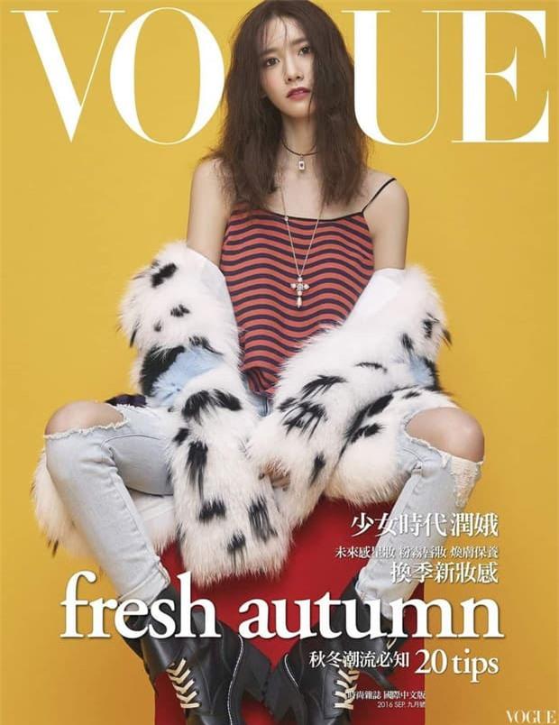 Nữ thần Yoona lồng lộn lên 7 bìa tạp chí, nhưng fan la ó vì đôi mắt 'trừng trừng' đánh bay vẻ đẹp nữ thần 2