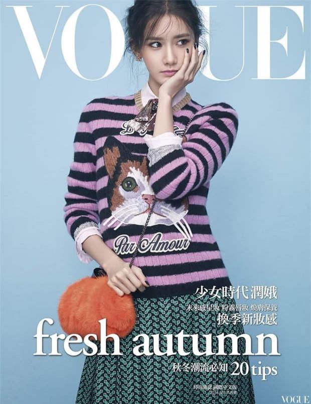 Nữ thần Yoona lồng lộn lên 7 bìa tạp chí, nhưng fan la ó vì đôi mắt 'trừng trừng' đánh bay vẻ đẹp nữ thần 0