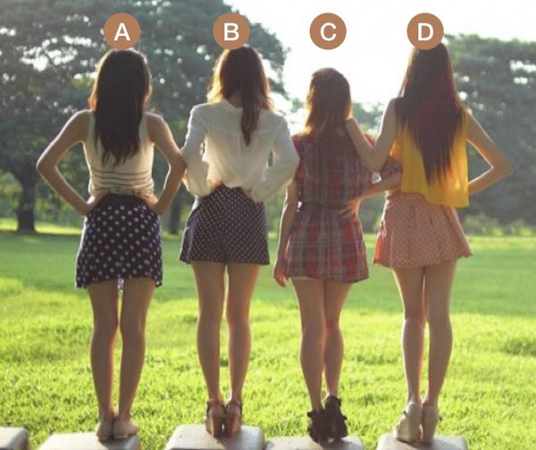 Bạn nghĩ cô gái nào xinh đẹp nhất?