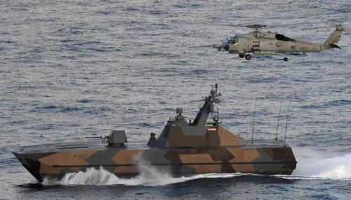 Tàu hộ tống ven biển lớp Skjold của Hải quân Hoàng gia Na Uy. Ảnh: Defence Blog.