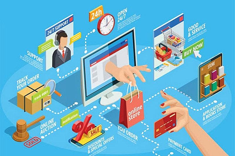 Thương mại điện tử là lĩnh vực được ưu tiên.