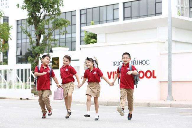 Vingroup cho biết chưa có kế hoạch mở rộng quốc tế đối với Vinschool. Ảnh: Dân trí.