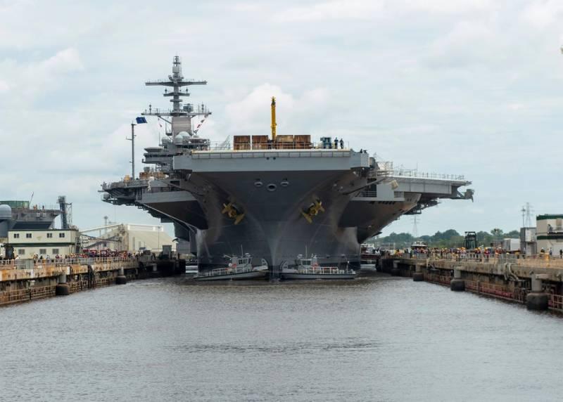 Tàu sân bay hạt nhân lớp Nimitz của Hải quân Mỹ. Ảnh: TASS.