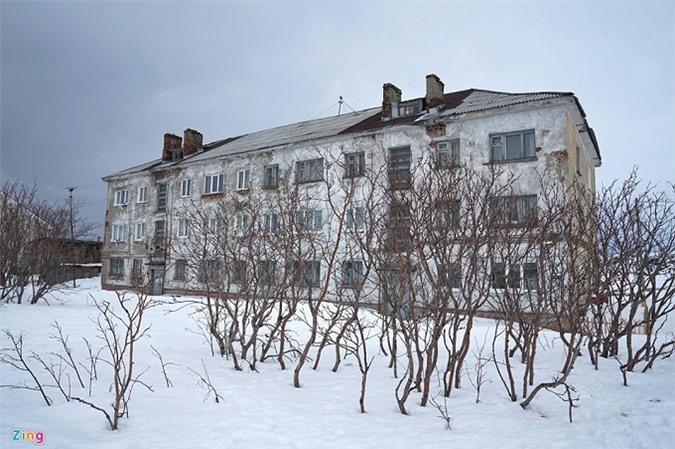 Khám phá ngôi làng phủ đầy tuyết trắng ở vùng Bắc Cực