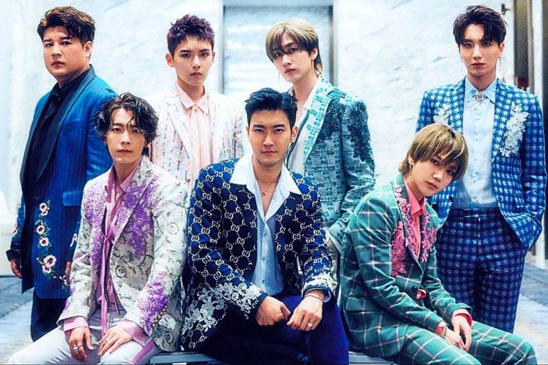 7. Super Junior.