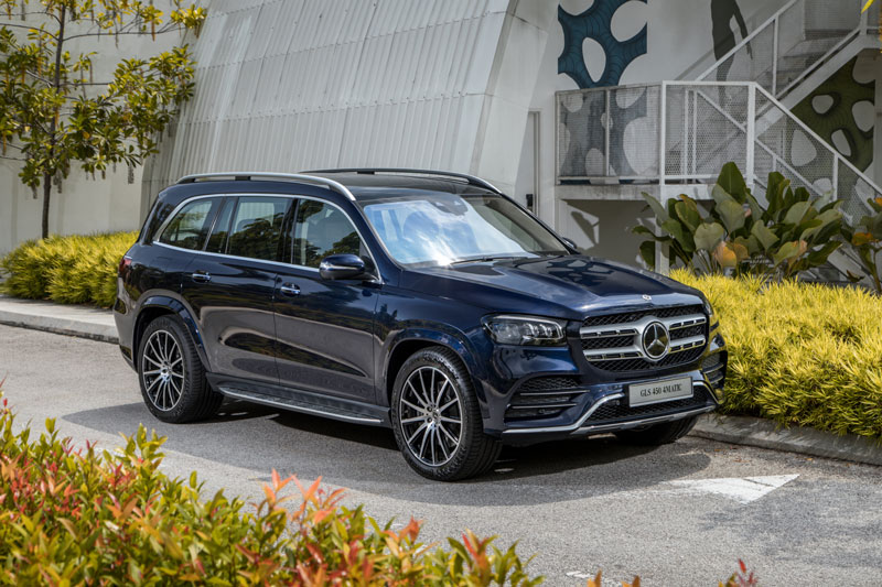 Mercedes-Benz GLS 450 4Matic 2020.