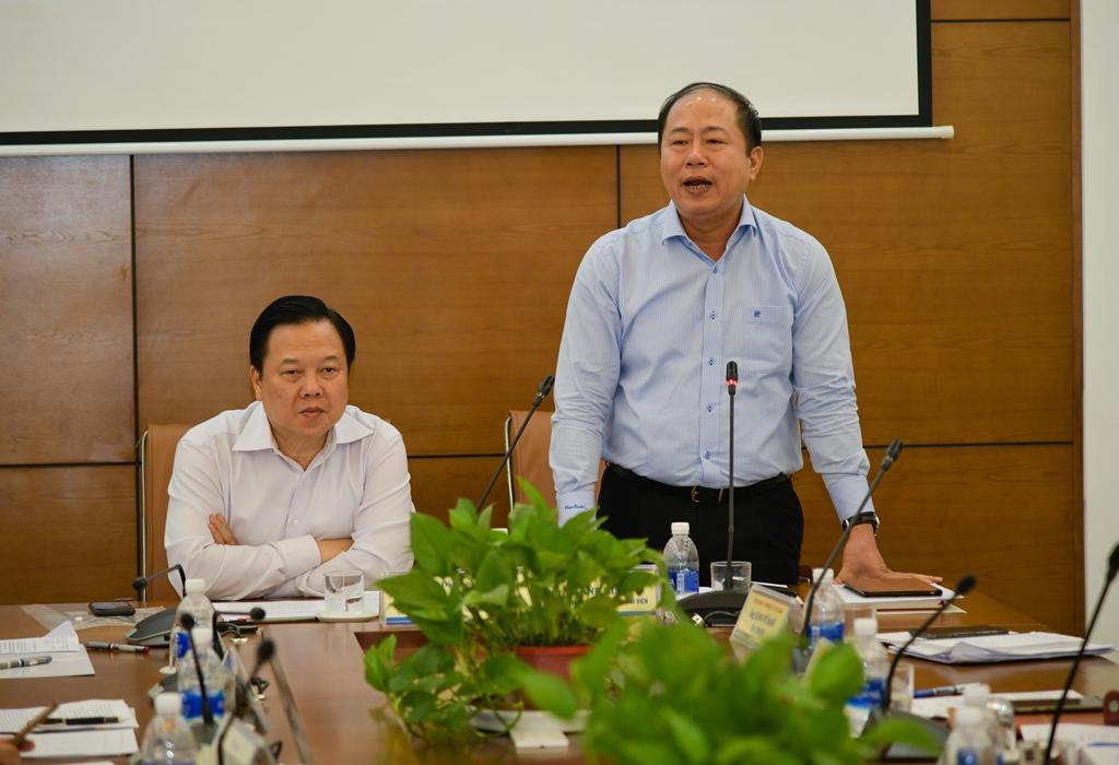 Ông Vũ Anh Minh - Chủ tịch Hội đồng thành viên VNR, phát biểu - ảnh; CMSC.