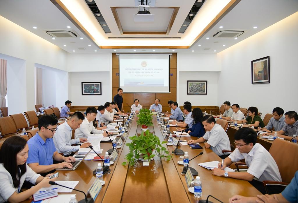 Buổi làm việc giữa Ủy ban Quản lý vốn nhà nước tại doanh nghiệp và Tổng công ty Đường sắt Việt Nam (VNR)