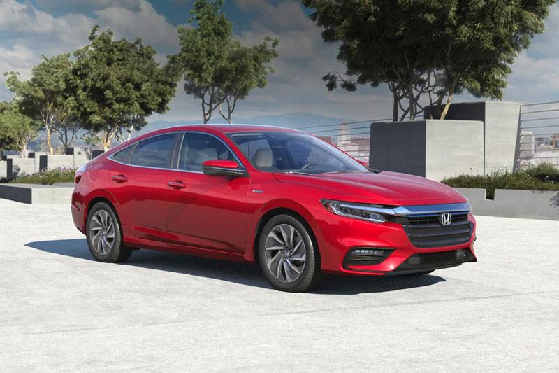 =3. Honda Insight 2020 (mức tiêu hao nhiên liệu ở đường hỗn hợp: 5,4 lít/100 km).