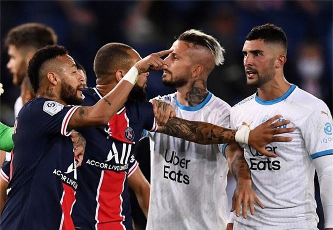 Chính Neymar cũng phải thừa nhận mình đã thiếu kiềm chế ở trận đấu với Marseille