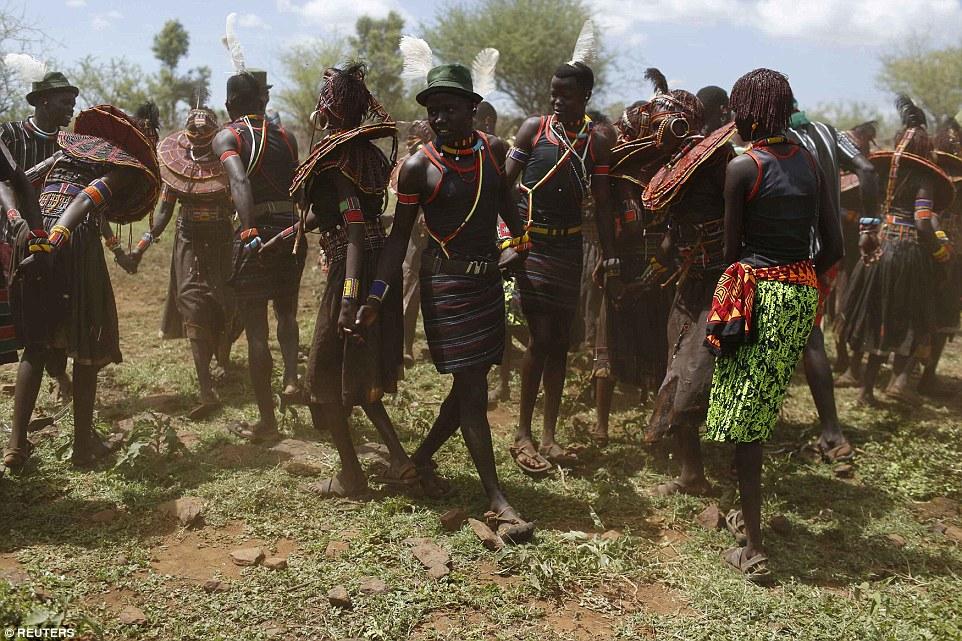 Bộ tôc Pokot (Kenya).