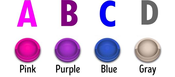 Bạn chọn nút màu gì?
