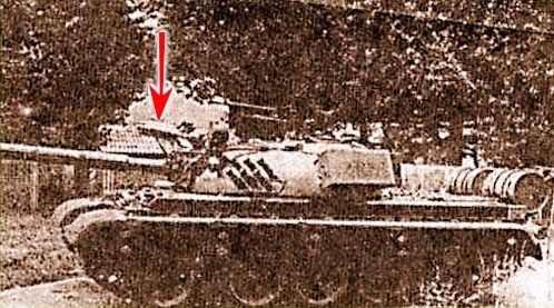 Tên lửa chống tăng Malyutka trên xe tăng T-55 của Nam Tư. Ảnh: TASS.