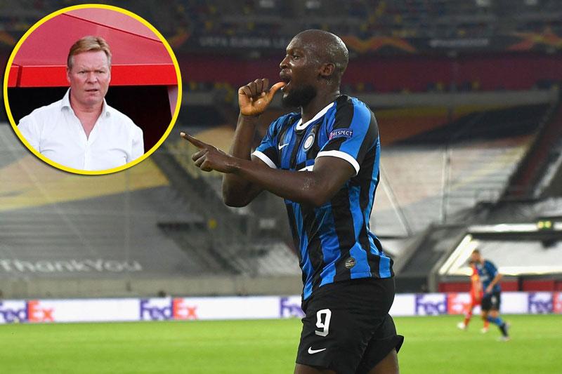 Koeman muốn đưa Lukaku về sân Nou Camp.