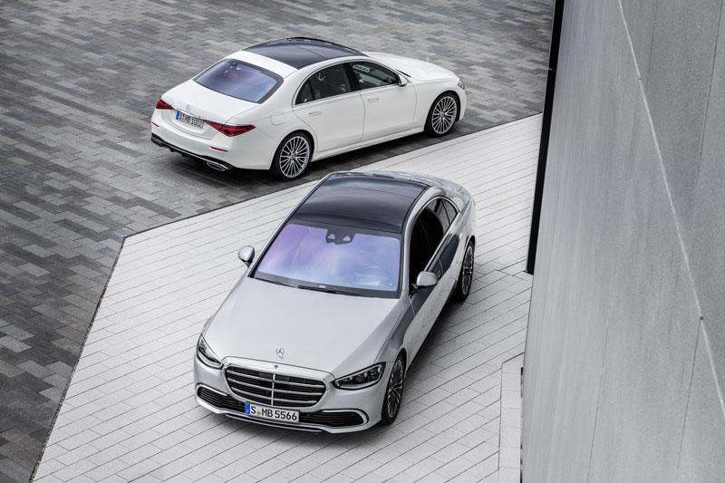 Mercedes-Benz S-Class 2021.