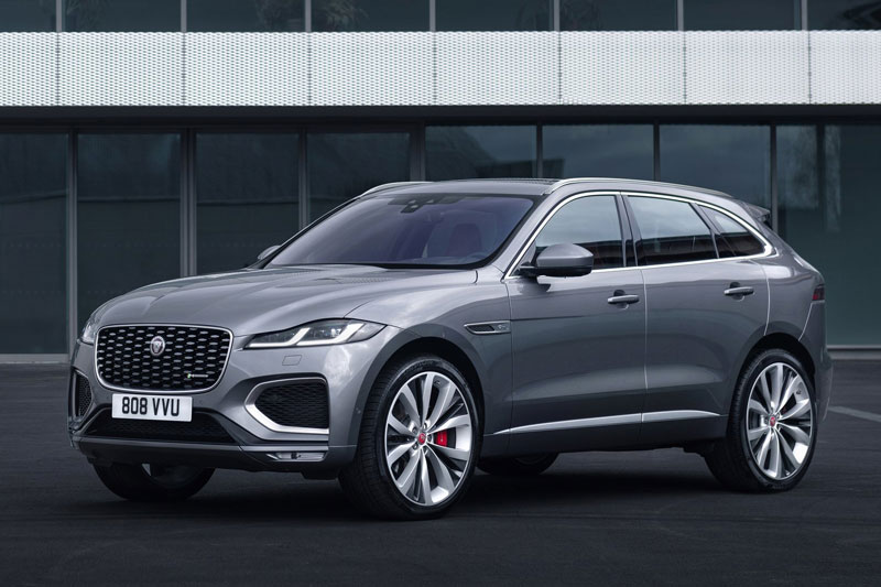 Cận cảnh Jaguar F-Pace 2021, giá gần 1,3 tỷ đồng