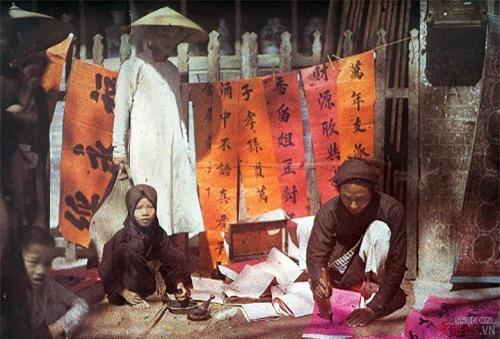 Việt Nam sống động qua những bức ảnh màu hiếm có chụp từ 100 năm trước - Ảnh 1